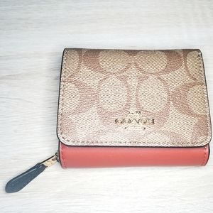 Coach Leather Wallet NWT